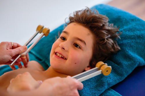 tuning forks therapy for kids Marta holistic healer Glastonbury